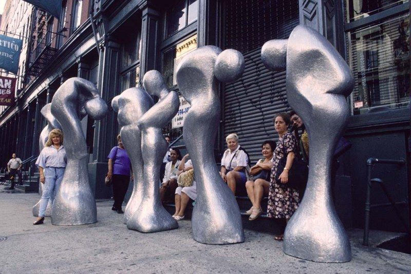 Golems on West Broadway